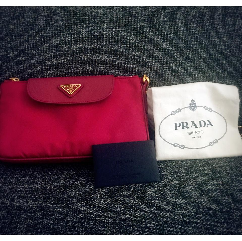 black leather prada - Prada Bandoliera Pink Cross Body Bag on Sale, 28% Off | Cross Body ...