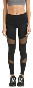 Forever 21 Forever 21 Black Mesh Leggings