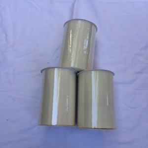 Three Tulle Rolls - 6 In X 100 Yards Each - Ivory Tulle