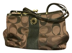 Coach 20105 Smoke-free Home Tote in Brown (3-tone)