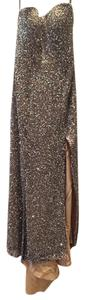 Jovani Strapless Sequin Dress
