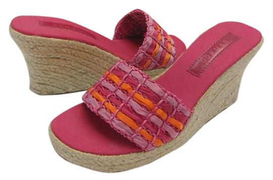 Preload https://item5.tradesy.com/images/bamboo-pink-apricot-new-m-excellent-condition-wedges-size-us-85-regular-m-b-16800094-0-1.jpg?width=440&height=440