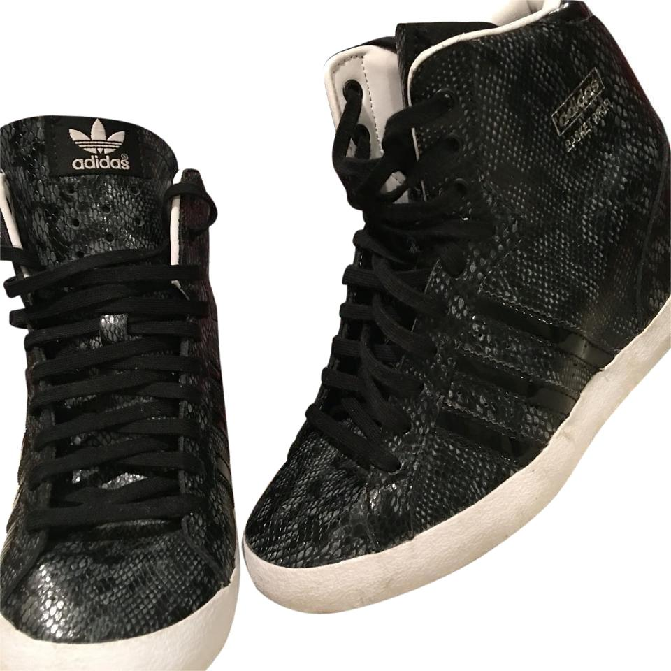 design de qualité c6959 c5539 adidas Black/ Snakeskin Basket Profi Sneakers Size US 6.5 Regular (M, B)  75% off retail