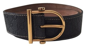 Gucci Gucci Embossed GG's Belt