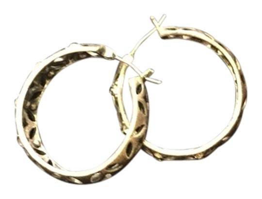 Fossil Fossil Brand Silver Earrings with Rhinestones