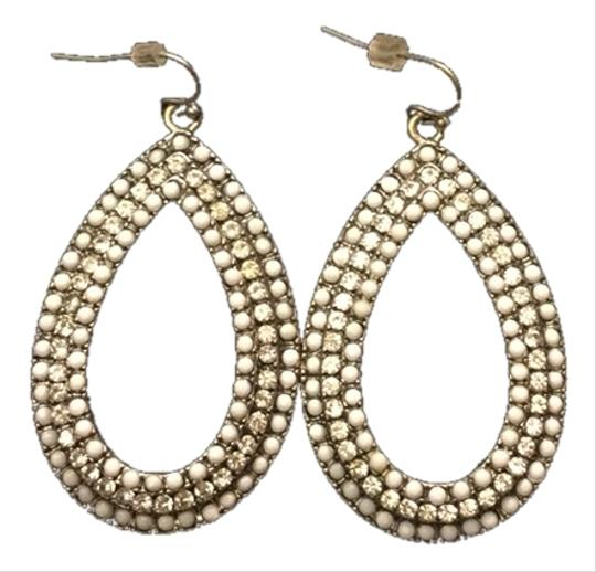 Preload https://item2.tradesy.com/images/silver-and-white-pear-shaped-drop-earrings-1680081-0-0.jpg?width=440&height=440