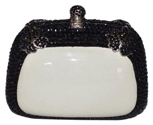 Rodo Black / Ivory Clutch