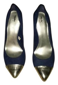Mossimo Supply Co. blue/silver Pumps