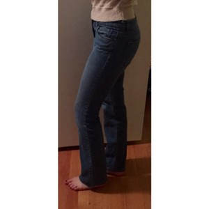 Ann Taylor LOFT Demin Mid Rise Boot Cut Jeans-Medium Wash