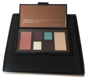 Nars Cosmetics NARS EYE AND CHEEK PALETTE LIMITED EDITION Andy Warhol Debbie Harry Set NEW