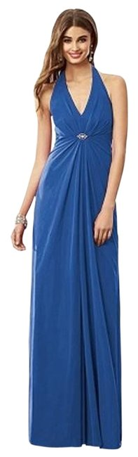 After Six Lapis 6692 Long Night Out Dress Size 14 (L) After Six Lapis 6692 Long Night Out Dress Size 14 (L) Image 1