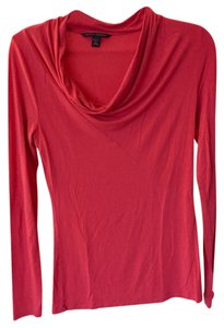 Banana Republic Long Sleeve Top pink, salmon, hot pink