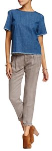 Free People Khaki/Chino Pants Taupe grey