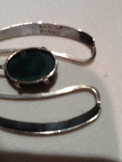 Other Dark green and sterling Pendant