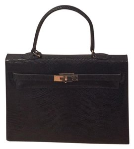 Lederer Satchel in Black