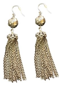 Fossil Fossil Brand Tassel Earrings