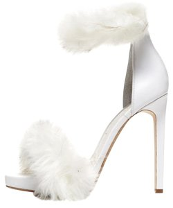 Jeffrey Campbell Stiletto Heels Leather Faux Clearance white Sandals