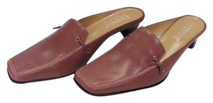 Franco Sarto New Size 9.00 M Leather Excellent Condition Rose, Mules