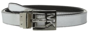 Michael Kors MICHAEL Michael Kors 25mm Small Reversible Belt with MK Cutout Buckle