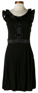 Marc by Marc Jacobs Leather Accents Ruffle Dress