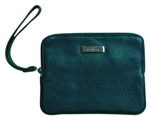 Cole Haan Soft Leather Wristlet in Black