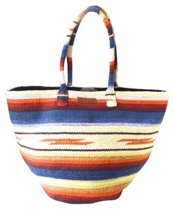 Billabong Red/blue/yelllow/orange Beach Bag