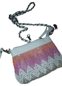 Big Buddha Recycled Material Eco Friendly Trendy Hipster Beaded Cross Body Bag