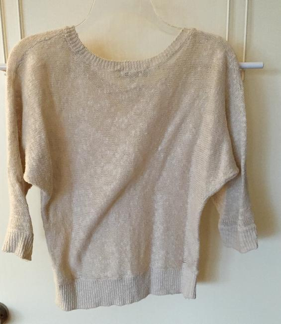 Ann Taylor LOFT Cotton Scoop Crew Sweater