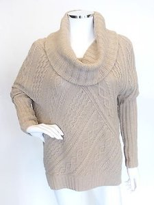 BCBGMAXAZRIA Turtleneck Mock Sweater