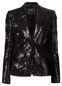Unconditional Sequin Black Blazer