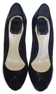 Dior Christian Patent Black Pumps