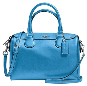 Coach Small Classic Shoulder Strap Satchel in Blue