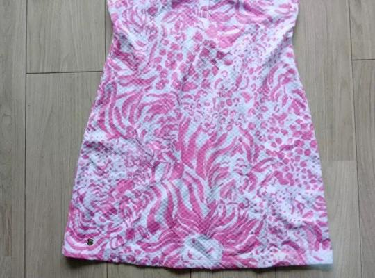 Lilly Pulitzer Resort White Get Spotted Rayna Printed Polo Shirt Cut Out Back Size Xs New Dress - 61% Off Retail high-quality