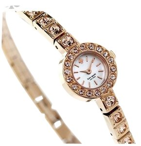 Kate Spade 'pierre' pave bracelet watch, 10mm
