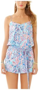 Lilly Pulitzer Shorts Romper Dress
