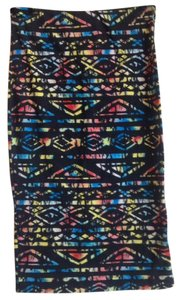 Forever 21 Skirt Multicolor