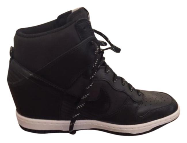 Item - Black Dunk Sky High Essential Sneakers Size US 9.5 Regular (M, B)