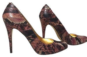 Ted Baker light and dark lilia reptile print Pumps