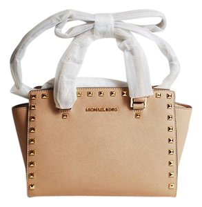 Michael Kors Selma Satchel in Blush