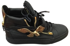 Giuseppe Zanotti Black / gold Athletic