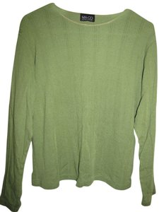 New York & Company Longsleeve T Shirt Lime green