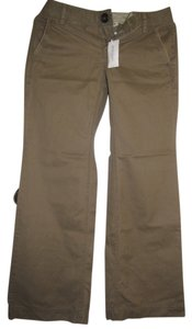 Banana Republic Straight Pants Light brown