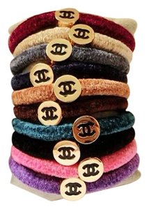Chanel SALE!!!!! Chanel Hair Ties, Set Of 5, You Choose Colors