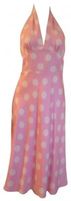Preload https://item3.tradesy.com/images/laundry-by-shelli-segal-pink-and-cream-dotted-silk-halter-knee-length-formal-dress-size-6-s-16807-0-0.jpg?width=400&height=650