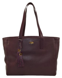 UGG Australia Leather Rae Tassles Tote in Astr ( Purple)