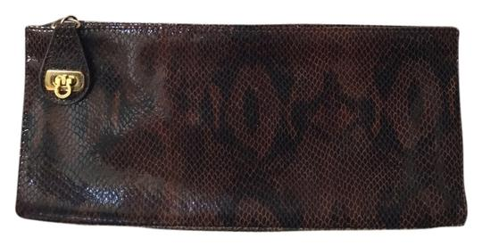 Kate Landry Brown Clutch