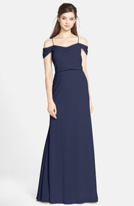 Jenny Yoo Navy Sabine Dress