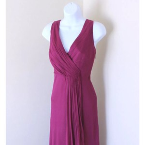 J.Crew Spiced Wine Formal Bridesmaid/Mob Dress Size 8 (M)