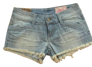 Siwy Designer Denim Shorts-Light Wash