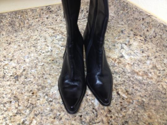 Other Mid Calf Pointed Toe Black Boots